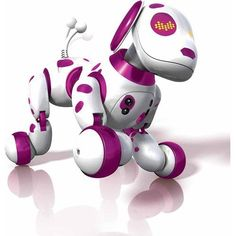 Zoomer Interactive Puppy, Zoomie  http://www.bestdealstoys.com/zoomer-interactive-puppy-zoomie/