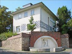 La maison de J.M. Olbrich (Mathildenhöhe, Darmstadt)