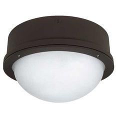 This 16 inch round 50 watt mh metal halide post top globe lighting 35w high pressure sodium round garage ceiling mount fixture ilighting mozeypictures Gallery