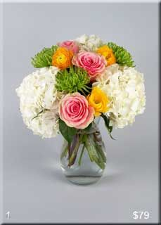 Custom flower arrangements from Morning Glory Flower Shop in Wilmette and Glenview Illinois