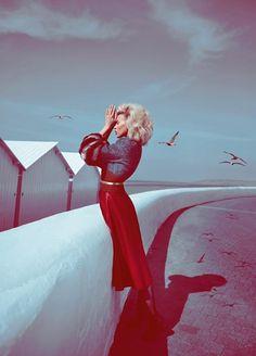 Koray Birand Snaps Britt Maren For Elle Russia September 2013