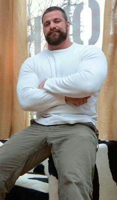 Sexy Big Handsome Man ! BHM . Big huggable teddy bears ! Cute guys rocks !