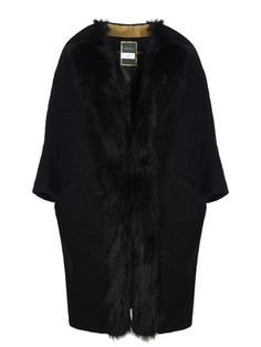 Italian Chic, Fur Trim Coat, Malene Birger, Fun Prints, Just In Case, Collections, How To Wear, Stuff To Buy, Shopping