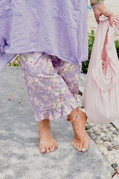 Spring Gypsy Kitty Bloomers, $99 AUD.  Lilac and lovely loose boho bloomers.