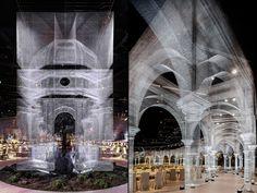 Scenographic tableau by Edoardo Tresoldi & DesignLab, Abu Dhabi – UAE » Retail Design Blog