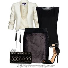 An Evening Out, Polyvore
