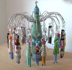peg doll chandelier £150.00