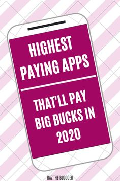 These are the highest paying Apps in Use these aps and make passive income today! Best Money Making Apps, Make Quick Money, Make Money From Home, Way To Make Money, Make Money Online, Online Jobs For Moms, Online Work From Home, Work From Home Jobs, Apps That Pay You