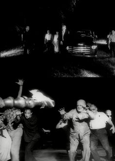 """Night of the Living Dead"" (1968, dir. George A. Romero)"