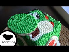 How to Make Yoshi Cake - YouTube