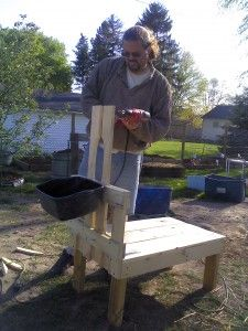 how to make your own goat milking stanchion