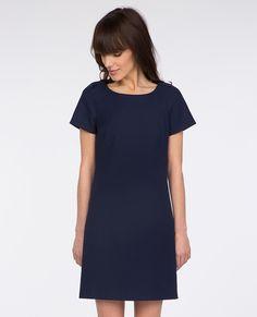 Robe en coton TREIZE - Couleur SAILOR BLUE