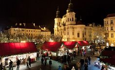 Sample traditional Czech Christmas cookies and warm up with medovina, a warm honey liquor, as you shop at the Prague Christmas markets this holiday season. (From: World's Coolest Christmas Markets)