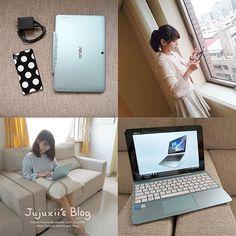 ASUS 筆電 Transformer Book T100HA   Laptop and Tablet