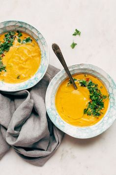 Easiest Turkish lentil soup made in a pressure cooker. This recipe is gluten-free, vegan-friendly and can be made with yellow split peas or yellow lentils!