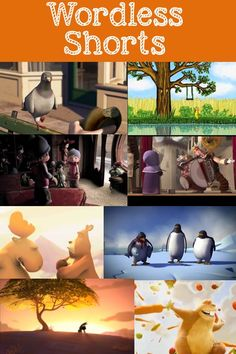 "Are you a big fan of wordless picture books?  What about upping the ante to wordless animated shorts?!  I was inspired by the adorable ""Hola Llamigo"" video that Sarah at Speech is Beautiful shared a link to a few weeks ago and used it with several students.  It was a novel, fun way to work on story re-telling, sequencing, vocabulary and inferencing so I started looking for more.  Here's a list of a few along with a quick description (for [Continue Reading]"