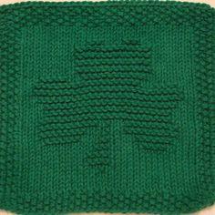 Shamrock dishcloth