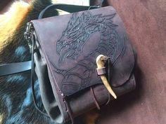 Shoulder bag Dragon Medieval Vikings mother of von Elbengard
