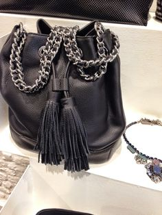 Agua del Carmen, boutique in Milan Rebecca Minkoff, Bucket Bag, Milan, Michael Kors, Street Style, Jewels, Blue Glitter, Boutique, Stylish