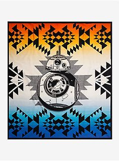 Pendleton Star Wars: The Force Awakens BB-8 Limited-Edition Wool & Cotton Throw Blanket | BoxLunch