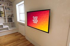 Best TV Mock-up#5 CreativeWork247 - Fonts, Graphics, Themes, Templates...