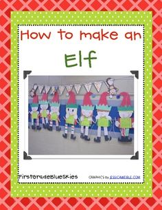Cute Elf for your door!