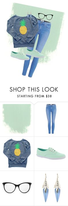 """""""Back to school #2"""" by frozensunset on Polyvore featuring Paige Denim, Keds, STELLA McCARTNEY and Alexis Bittar"""