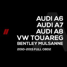 Audi A6 A7 A8  VW Touareg  Bentley Mulsanne Mileage programming software via OBD2 using EnigmaTool