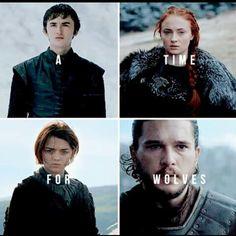 Stark Children - Game of Thrones