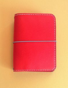 Travelers Notebook, A6 size in Crimson Red