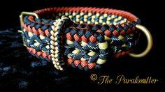 "Adjustable and reflectable Dog Collar ""Jony"".  #Paraknotter #Handmade…"