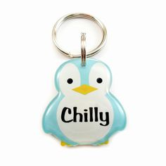 Happy Tags - Blue Penguin Pet ID for Cats and Dogs, (http://www.happy-tags.com/products/pet-tag-blue-penguin-id-for-cats-and-dogs.html)