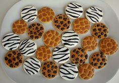 Animal Print Cookies--Sweet Adventures of Sugarbelle