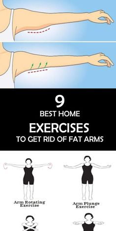 Fat arms can feel humiliating and awkward, particularly in summer when it's decent to wear shirts and dresses. In any case, don't stress, there are basic activities you can do at home to condition those arms and lessen out of shape arms for good! We're speaking here about conditioning up your triceps, those substantial muscles at the back of your arms that are utilized while fixing the arms.
