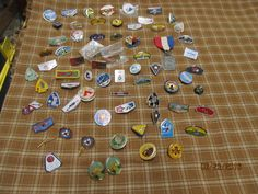 Huge Vintage Assortment Lot of BSA Boy Scouts of America Pieces Hat Lapel Pins Tie Tacks Order of the Arrow Lodges Jamborees by EvenTheKitchenSinkOH on Etsy