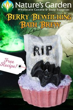 Free Berry Bewitching Bath Brew Recipe by Nature Garden
