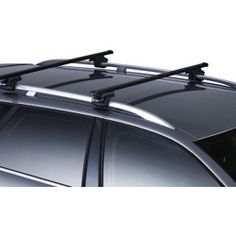 2000 Nissan Frontier Thule Square Bar Base Rack System