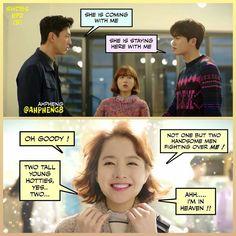 Hyung sik and jisoo Strong woman do bong soon funny memes ❤❤