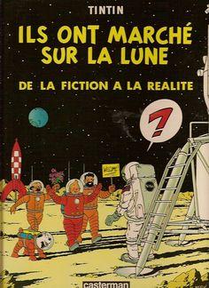 Les Aventures de Tintin - Album Imaginaire - Ils ont Marché sur la Lune