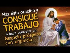 PODEROSA ORACION PARA CONSEGUIR TRABAJO O NEGOCIO URGENTE - YouTube Reiki, Prayers, Religion, Youtube, Education, Amor, Happy, Teaching, Onderwijs