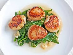 Honest Vanilla: Pan-seared Scallops with White Wine and Lemon
