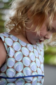Australian Made Childrens Clothes - lovely fabric