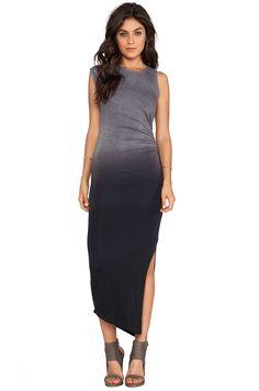 Kain Penny Dress in Black Ombre