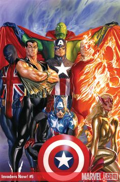 Invaders Now! #05, by Alex Ross.