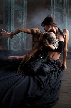 ♫♪ Dancers ♪♫ Farukh Ruzimatov & Diana Vishneva by Anatoly Bisinbaev