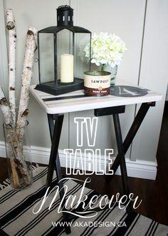 TV Table Makeover AKA DESIGN 498x700 TV Table Makeover  Trash to Treasure