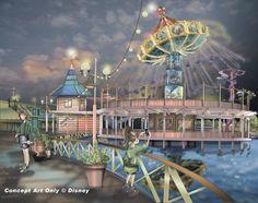 Silly Symphony Swings, Disney California Adventure, Disneyland Resort