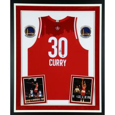 Stephen Curry Golden State Warriors Fanatics Authentic Deluxe Framed Autographed 2016 All-Star Swingman Jersey