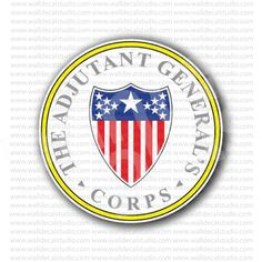 Adjutant General's Corps US Army Sticker