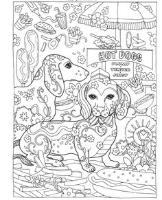 Gyazo - Amazon.com: Creative Haven Dazzling Dogs Coloring Book (Adult Coloring) (0800759803828): Marjorie Sarnat: Books - Google Chrome
